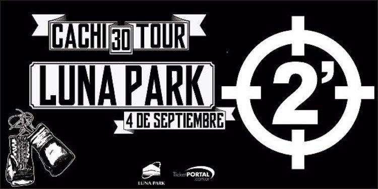 2 Minutos en el Luna Park 2016: Precios y entradas en venta