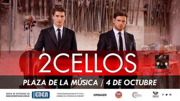 2Cellos en Córdoba 2016: Precios y entradas en venta