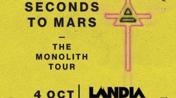 30 seconds to Mars en Uruguay 2018