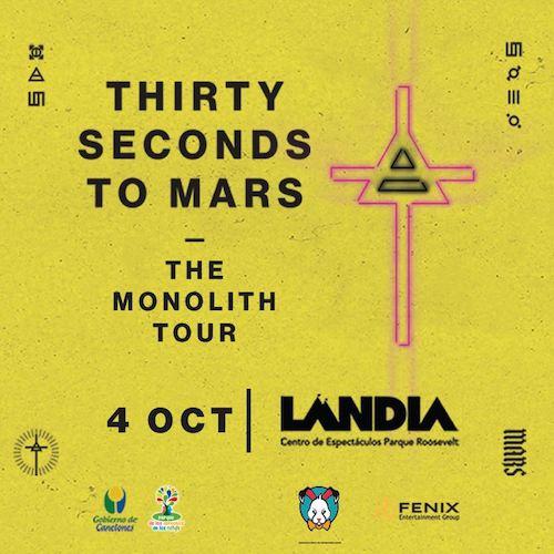 30 seconds to Mars en Uruguay 2018: Precios y entradas en venta