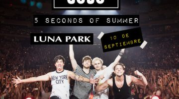 5 Seconds of Summer en Argentina 2017: Luna Park