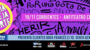 Abel Pintos en Corrientes 2018