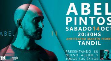 Abel Pintos en Tandil 2017
