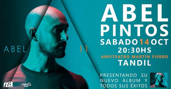 Abel Pintos en Tandil 2017: Precios y entradas en venta