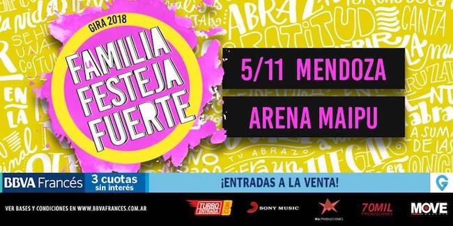 Abel Pintos en Mendoza 2018: Precios y entradas en venta
