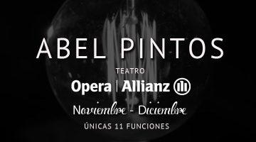 Abel Pintos en el Teatro Opera 2016