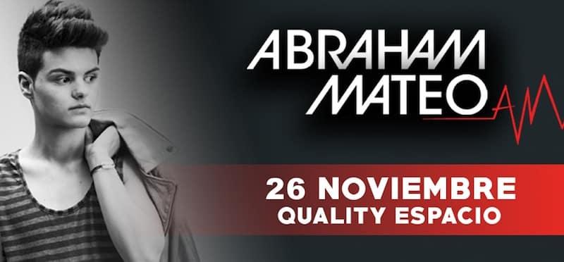 Abraham Mateo en Cordoba 2015: Precios y entradas en venta