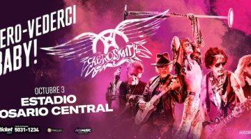 Aerosmith en Rosario 2017