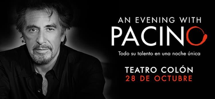 Al Pacino en el Teatro Colon 2016: Precios y entradas en venta
