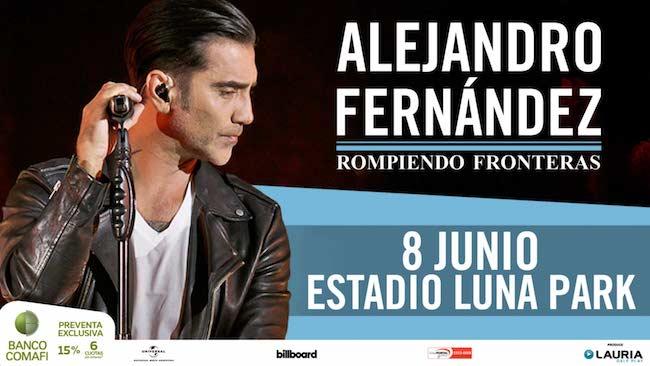 Alejandro Fernandez en Argentina 2018: Precios y entradas en venta