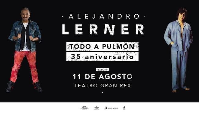 Alejandro Lerner en el Gran Rex 2018: Precios y entradas en venta