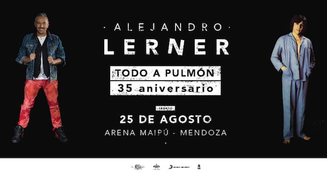 Alejandro Lerner en Mendoza 2018: Precios y entradas en venta