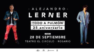Alejandro Lerner en Rosario 2018