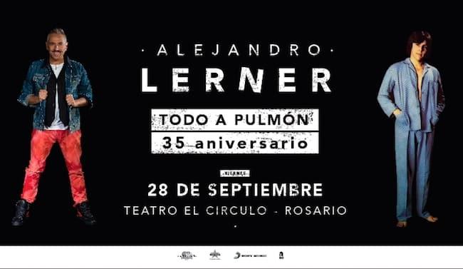 Alejandro Lerner en Rosario 2018: Precios y entradas en venta
