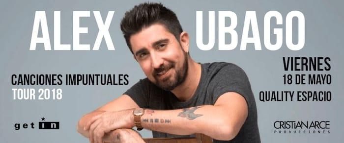 Alex Ubago en Córdoba 2018: Precios y entradas en venta