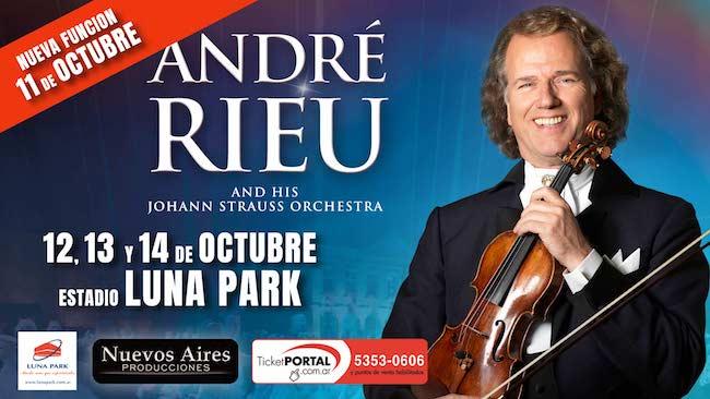 Andre Rieu en Argentina 2018: Precios y entradas en venta