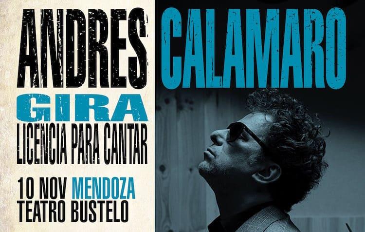 Andres Calamaro en Mendoza 2016: Precios y entradas en venta