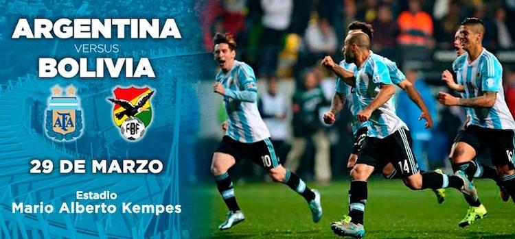 Argentina vs Bolivia en Córdoba 2016: Entradas en venta