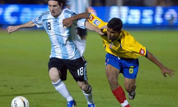 Entradas Argentina Colombia 2009