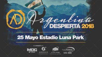 Argentina Despierta en el Luna Park 2018
