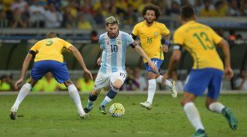 Argentina vs Brasil en Australia 2017