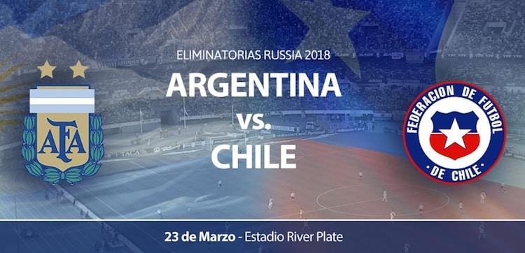 Argentina vs Chile en River 2017: Precios y entradas en venta
