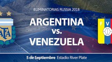 Argentina vs Venezuela 2017: Estadio River Plate