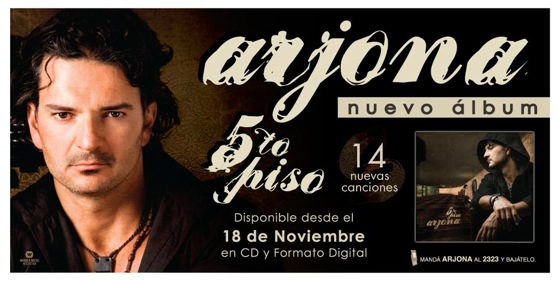 Arjona viene a la argentina