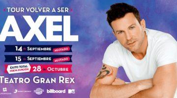 Axel en el Gran Rex 2018