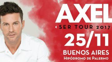 Axel en el Hipódromo de Palermo 2017