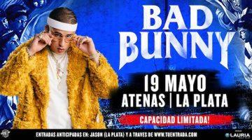 Bad Bunny en La Plata 2018