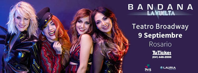 Bandana en Rosario 2016: Precios y entradas en venta