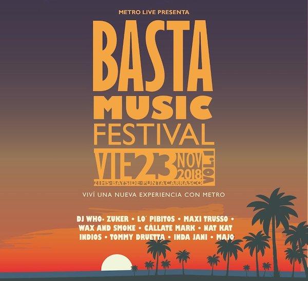 Basta Music Festival 2018: Precios, horarios, bandas, y entradas en venta