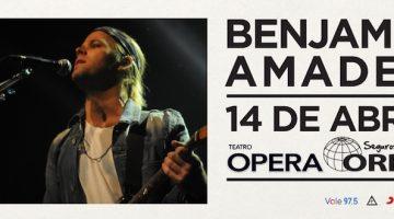 Benjamin Amadeo en el Teatro Opera 2018