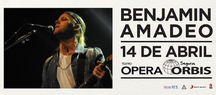 Benjamin Amadeo en el Teatro Opera 2018: Precios y entradas en venta