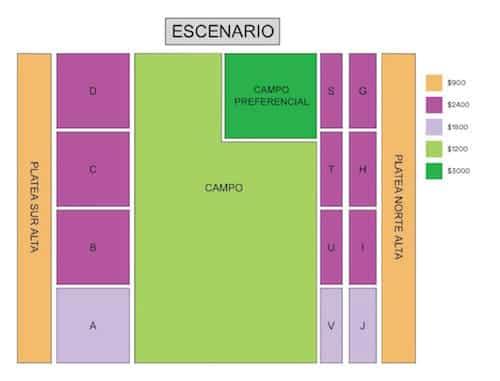Black Sabbath en Argentina 2016: Mapa de entradas