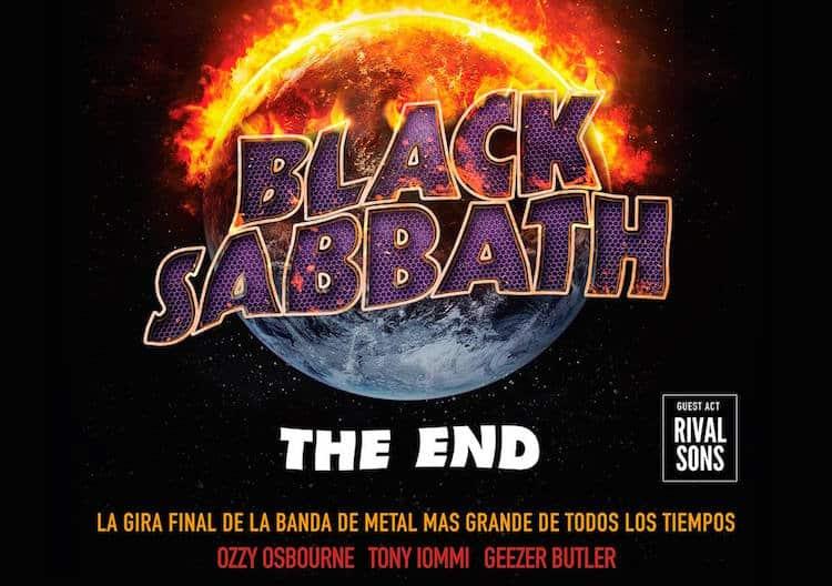 Black Sabbath en Córdoba 2016: Precios y entradas en venta
