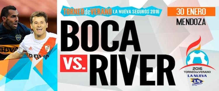 Boca vs River en Mendoza 2016: Precios y entradas en venta