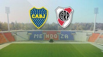 Boca vs River en Mendoza 2018