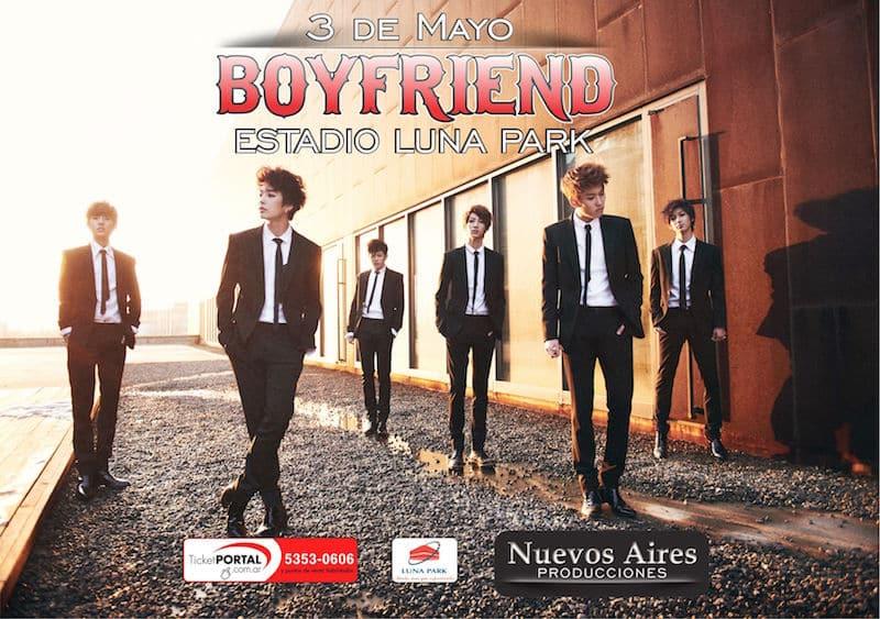 Boyfriend en Argentina 2015: Precios y entradas en venta