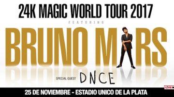 Bruno Mars en Argentina 2017: Estado Único