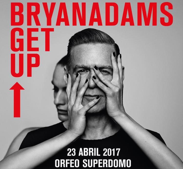 Bryan Adams en Córdoba 2017: Precios y entradas en venta