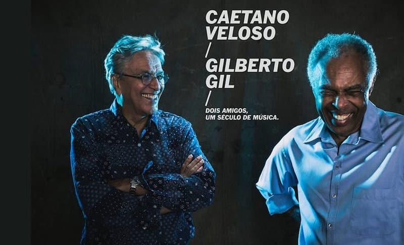 Caetano Veloso y Gilberto Gil en Argentina 2015: Precios y entradas en venta