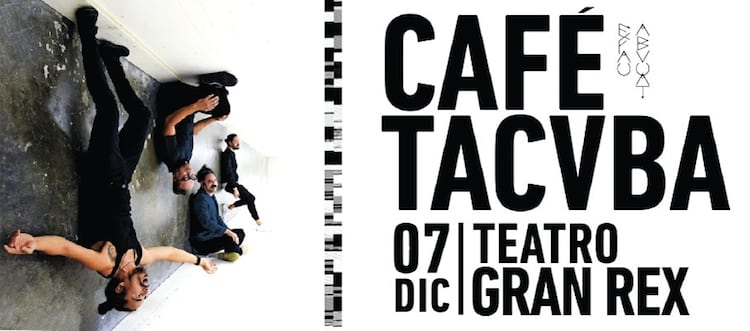 Cafe Tacuba en el Gran Rex 2017: Precios y entradas en venta
