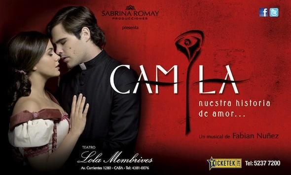 Camila en el Teatro Lola Membrives 2013: Precios y entradas en venta