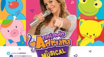 Cantando con Adriana en el Teatro Astral 2017