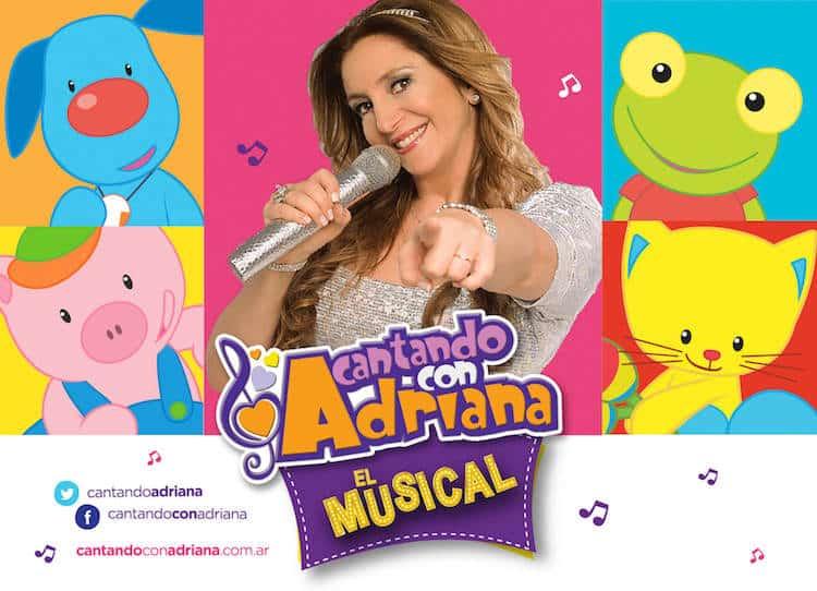 Cantando con Adriana en el Teatro Astral 2017: Precios y entradas en venta