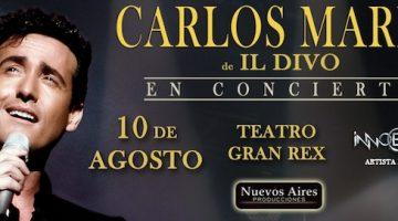 Carlos Marin en Argentina 2018: Teatro Gran Rex