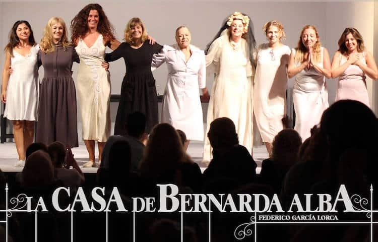 La Casa de Bernarda Alba en el Teatro Regina 2016