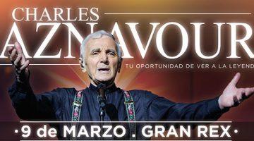 Charles Aznavour en el Gran Rex 2017